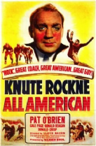 Knute Rockne All American 1940 DVD - Pat O'Brien / Gale Page
